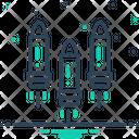 Bullet Ammunition Cartridge Icon
