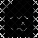 Bullet Points File Memo Icon