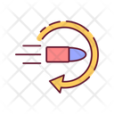 Gun Control Bullet Icon