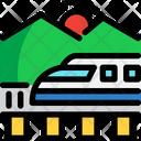 Bullet Train Train Fast Icon