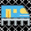 Bullet Train High Speed Train Railway Icon