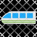 Bullet Train Aerotrain Icon