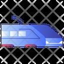 Bullet Train Rails Icon