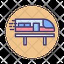 Bullet Train Train Railway Icon