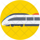 Bullet Train Tram Icon