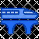 Shinkansen Bullet Train Rapid Transportation Japan Travel Icon