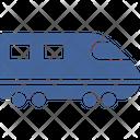 Transport Transportation Bullet Train Icon