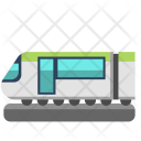 Bullet Train Vacation Icon