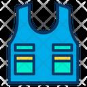 Bulletproof Vest Armor Vest Icon