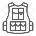 Military Vest Army Icon