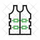 Bulletproof jacket Icon