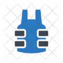 Bulletproof Jacket Vest Icon