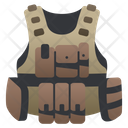 Bullet Bulletproof Proof Icon