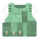 Bulletproof Jacket Bulletproof Vest Icon
