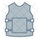 Bulletproof Vest Jacket Icon