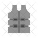 Bulletproof Jacket Bullet Icon