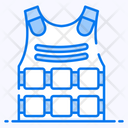 Bulletproof Vest Bulletproof Jacket Bullet Resistant Vest Icon