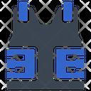 Bulletproof Police Vest Icon
