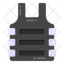Bulletproof Jacket Bulletproof Vest Flak Jacket Icon