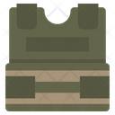 Bulletproof Vest Protection Icon