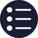 Bullets Check List Icon