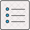 Bullets Document Icon