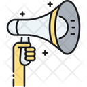Mbullhorn Bullhorn Advertisement Icon