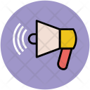 Bullhorn Megaphone Announcement Icon