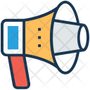 Bullhorn Advertisement Ad Icon