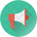 Megaphone Speaking Trumpet Bullhorn Icon