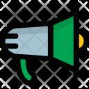 Bullhorn Megaphone Loudhailer Icon