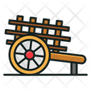 Bullock Cart Icon