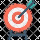 Bullseye Bullseye Arrow Dartboard Icon