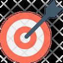 Bullseye Dartboard Focus Icon