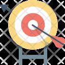 Bullseye Crosshair Dartboard Icon
