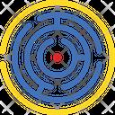 Bullseye Challenge Dartboard Icon