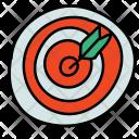 Bullseye Dart Board Icon