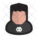 Bully Bad Cybercriminal Icon