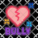 Bully Broken Heart Icon