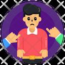 Intimidation Bullying Man Bullying Icon