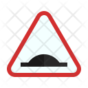 Bump ahead Icon