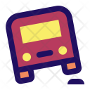 Bump Car Bus Icon