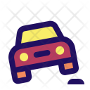Bump Car Vehicle Icon