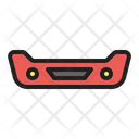 Bumper Construction Car Icon