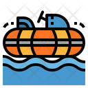 Bumper Boats Hobbies Icon