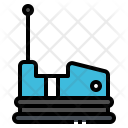 Bumper Car Park Icon