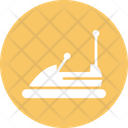Bumper Car Bumping Car Dashing Car Icon