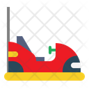 Amusement Park Bumper Car Entertainment Icon