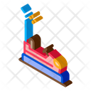 Bumper Car Amusement Icon