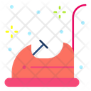 Bumper Car Car Ride Icon